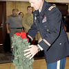 Submitted photo by U.S. Army photo by KEVIN JACKSON | COL. Sean M. Herron, commander, McAlester Army Ammunition Plant, places the wreath to honor the sacrifices made by the men and women who served in World War 1.