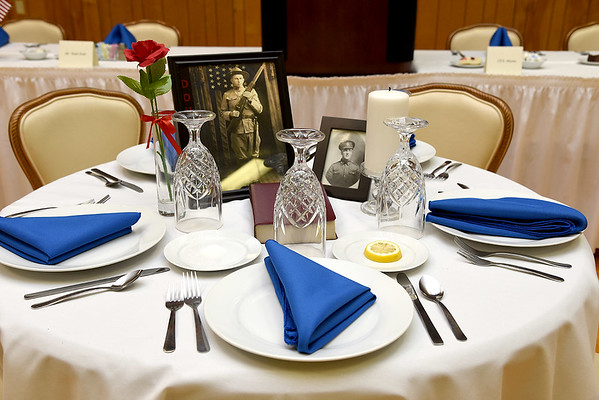 Submitted photo by U.S. Army photo by KEVIN JACKSON | Missing Man Table.