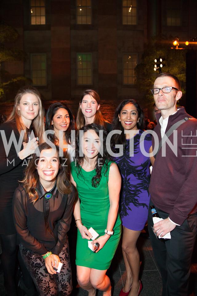 Lisa Donovan, Azita Ardakani, Amy Benziger, Megha Desai, Nic Lutsey, Front: Audrey Buchanan, Anneke Jong (Generation Listen)