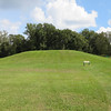 "This is the Great Sun's mound. He was a hereditary Chief of the Natchez, who died in 1728. The Natchez Indians occupied SW Mississippi circa 700-1730.  At contact with the French, the Grand Village, adjacent to St. Catherine Creek and some distance from the Mississippi River, was their main ceremonial centre.  Initial good relations with the French soured in 1716, leading to the Natchez attack on the French garrison at Ft. Rosalie, about 6 km away on the Mississippi, where downtown Natchez is today. The French responded with overwhelming force over the next years until 1729, when the Natchez were virtually exterminated. The survivors moved north and east and were adopted into the Choctaw and Cherokee tribes.<br /> <a href=""http://www.nps.gov/nr/travel/mounds/gra.htm"">http://www.nps.gov/nr/travel/mounds/gra.htm</a>"