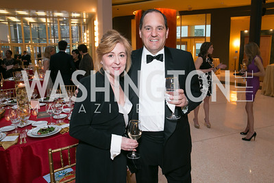 Lisa Furman, Ed Furman. Photo by Alfredo Flores. National Museum of Catholic Art and Library's 3rd Annual Roman Gala La Primavera. Embassy of Italy. April 2, 2014