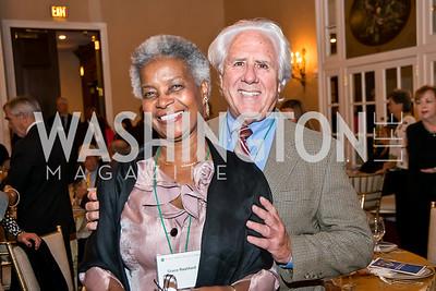Grace Rashford, Ken Ringle. Photo by Tony Powell. National Tropical Botanical Garden's 50th Anniversary. St. Regis Hotel. October 7, 2014