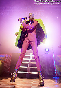 Neon Trees perform at the House of Blues in Boston, Massachusetts on July 9, 2014