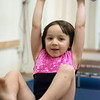 """Kayla Rice/Reformer<br /> Maizy Shooer-Sampson, 4, swings on a trapeze bar during the New England Center for Circus Arts' """"Tots"""" class for ages 1.5-4 years at Cotton Mill Hill in Brattleboro on January 20th."""