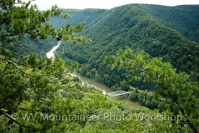 New River Gorge Bridge, Fayetteville Station West Virginia