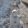 Kayla Rice/Reformer<br /> Snow people and animals line the road and cover the common in Newfane.