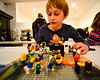 People drop off their LEGO projects at the Brattleboro Museum & Art Center for the Ninth AnnualLEGOContest & Exhibit on Wednesday, Nov. 16, 2016.  The exhibits will be on display from Nov. 18 to 20. Kristopher Radder / Reformer Staff