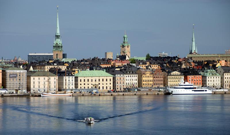 Arrival at Stockholm