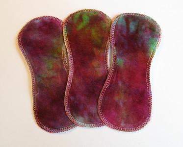 "THREE 7inch TinyLiners - ""rainbow gem"""