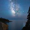 The Milky Way at Schoodic