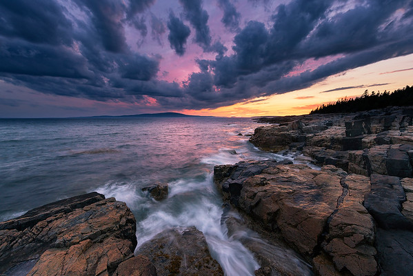 Schoodic Sunset