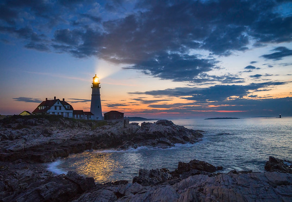 Portland Head Twilight