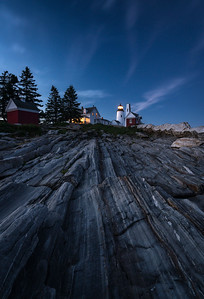 Pemaquid Point Light Blues