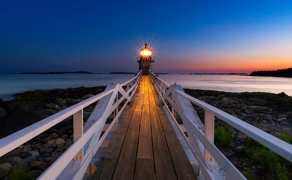 Marshall Point - Blue Hour