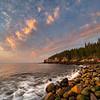 Boulder Beach Sunrise, Acadia National Park