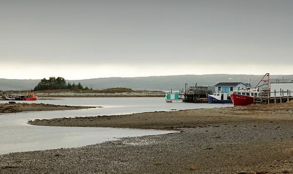 Cape Breton Fishing Village.