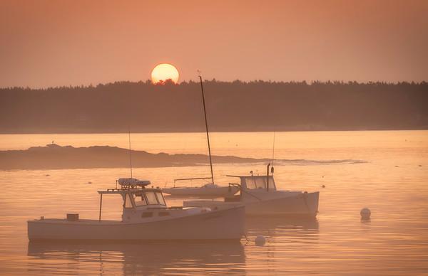 Sunrise at Five Islands