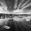 Stonington, Maine, Black and White, July 2020