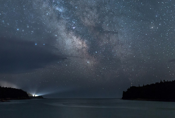 Otter Cove Night Sky