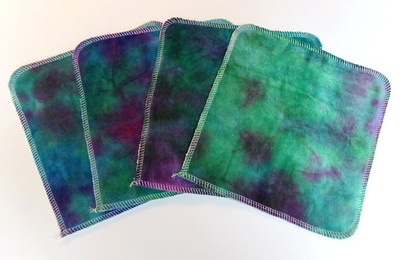 "8x8 ""ultimate luxury"" Cloths- Set of FOUR"