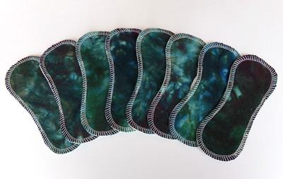 "ONE 7"" Tiny Liner - raw tussah silk"