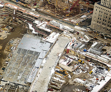 Aerial view of WTC8 on Dec. 10, 2002. (Trentonian photo by John Dullighan)