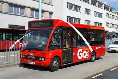 206 - WK58EAE - Plymouth (Royal Parade)