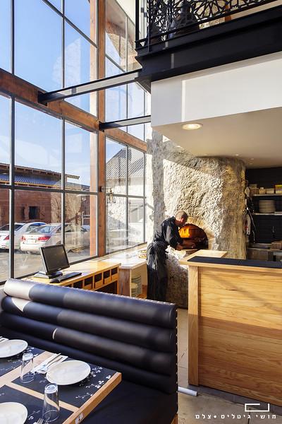צילום אדריכלות: מסעדה ביישוב מר. תכנון ועיצוב אדריכלי: סטודיו או.ז ואבי לוי