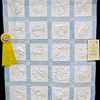 Honorable Mention<br /> Blue Roly Poly Circus Quilt <br /> Erin Evans