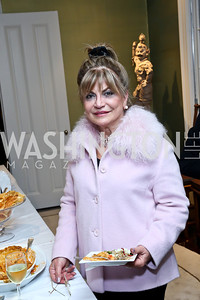 Annie Totah. Photo by Tony Powell. PEN Faulkner Supper with Amy Tan and Deborah Tannen. Pillsbury residence. March 2, 2014