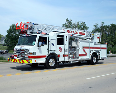 ST JOHNS FIRE RESCUE LADDER 2