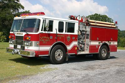 Engine 12 is this 1994 Pierce Saber, 1000/750, sn- E8602.