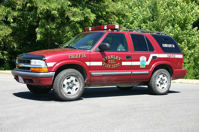 Former Chief 24 was this 1999 Chevy Blazer.