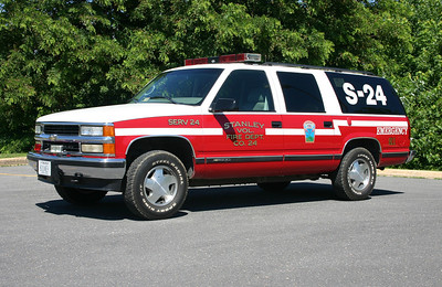 SERV 24 is a 1998 Chevrolet Suburban.