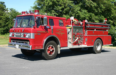 Reserve Engine 25 is this nice 1975 Ford C900/FMC, 1000/750, sn- 9543.  At one time, this was painted lime green.