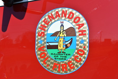 """Shenandoah Volunteer Fire Department - Page County Station 70.  Shenandoah, Virginia emblem found on a variety of the apparatus.  """"Daughter Of The Stars"""" is a American Indian translation of Shenandoah."""