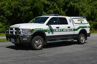 Last from Luray Rescue is Response 3, a 2012 Dodge pick-up.