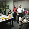 """Palmetto Health Tuomey administration and leadership met often in the Hospital Incident Command Center (HICC). The """"War Room"""" -- as the staff named it -- was opened Sunday morning when the flood started and manned around the clock for several days."""