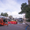 Davis Water trucks provided clean water to keep the hospitals running.