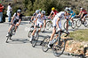 The escape is now a quintet with Bretagne-Seché having both Feillu and Guillou in it as they start the Col de Vence...