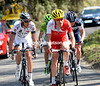 Cyrille Lemoine is leading a quartet in pursuit at 35-seconds...