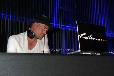 DJ Coleman photo by Rob Rich/SocietyAllure.com © 2014 robwayne1@aol.com 516-676-3939
