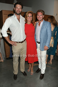 Jack Hazzard, Elizabeth Lohr and Jared Abrams atttend the Parrish Arts muesum annual summer gala at the Parrish Arts Muesum on July 12, 2104 in Watermill.  photo by SocietyAllure.com/Rob Rich
