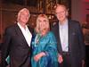 Ron Burkhardt, Caroline Lieberman, guest<br /> photo by Rob Rich/SocietyAllure.com © 2014 robwayne1@aol.com 516-676-3939