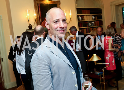 Charles Birnbaum. Photo by Tony Powell. Newport Society Party. Prince Residence. May 13, 2014