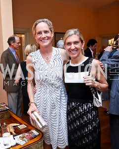 Katie Gewirz, Janis Buchanan. Photo by Tony Powell. Newport Society Party. Prince Residence. May 13, 2014