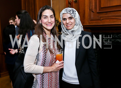 Ana Ovitt, Saghira Alahbabi. Photo by Tony Powell. Past Forward Opening. Meridian. May 21, 2014