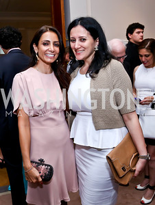 Abeer Al-Otaiba, Pauline Habr. Photo by Tony Powell. Past Forward Opening. Meridian. May 21, 2014