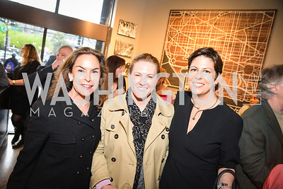 Melissa Moss, Teal Baker, Amy Weiss, Peet's Coffee & Tea VIP Launch Party, Wednesday, April 30th, 2014, 1701 Pennsylvania Avenue NW.  Photo by Ben Droz.