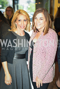 Dana Bash, Loretta Sanchez, Peet's Coffee & Tea VIP Launch Party, Wednesday, April 30th, 2014, 1701 Pennsylvania Avenue NW.  Photo by Ben Droz.